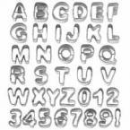 Cijfer & Letter Uitstekers