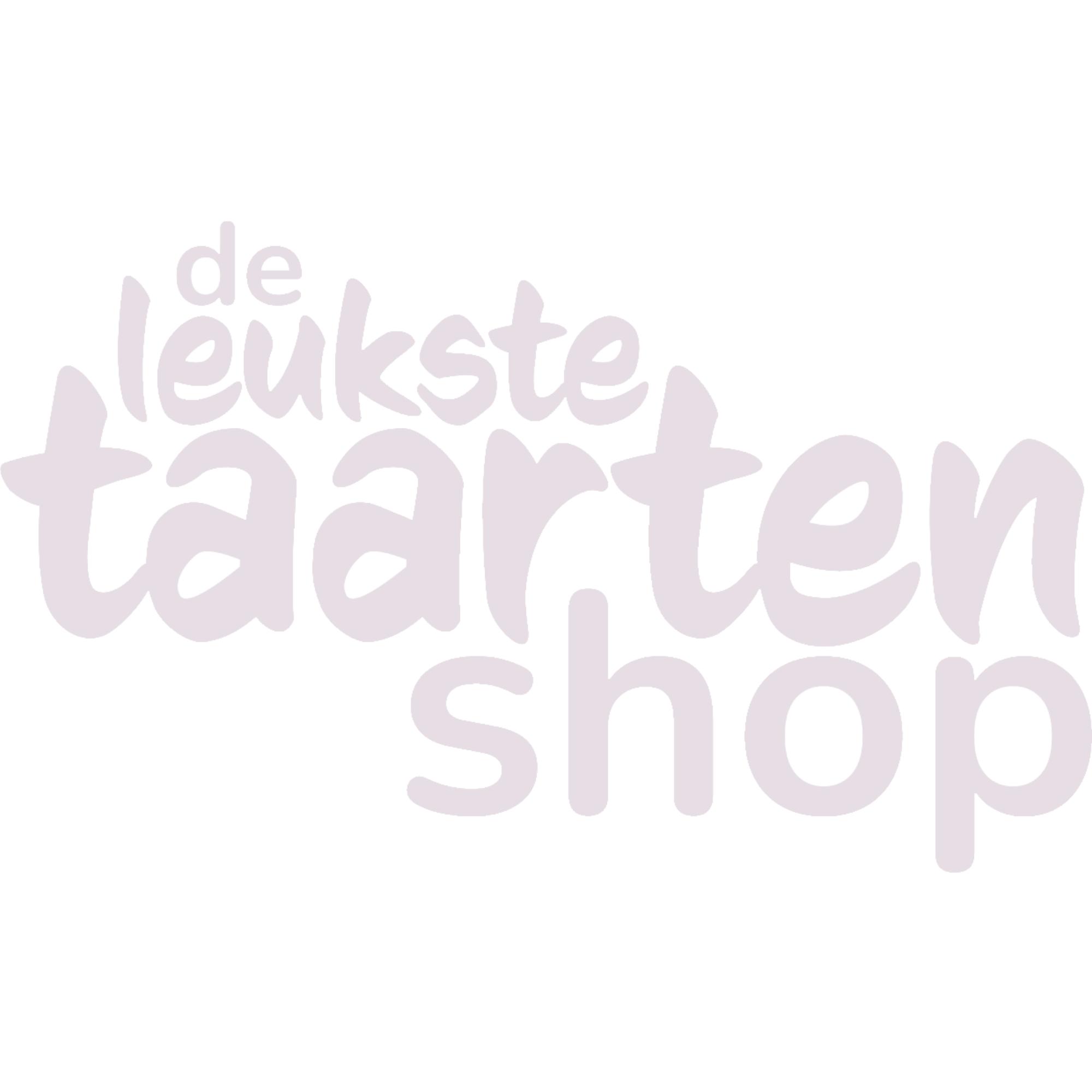 FunCakes Marsepein Voetbalshirt Wit en Oranje 12st.