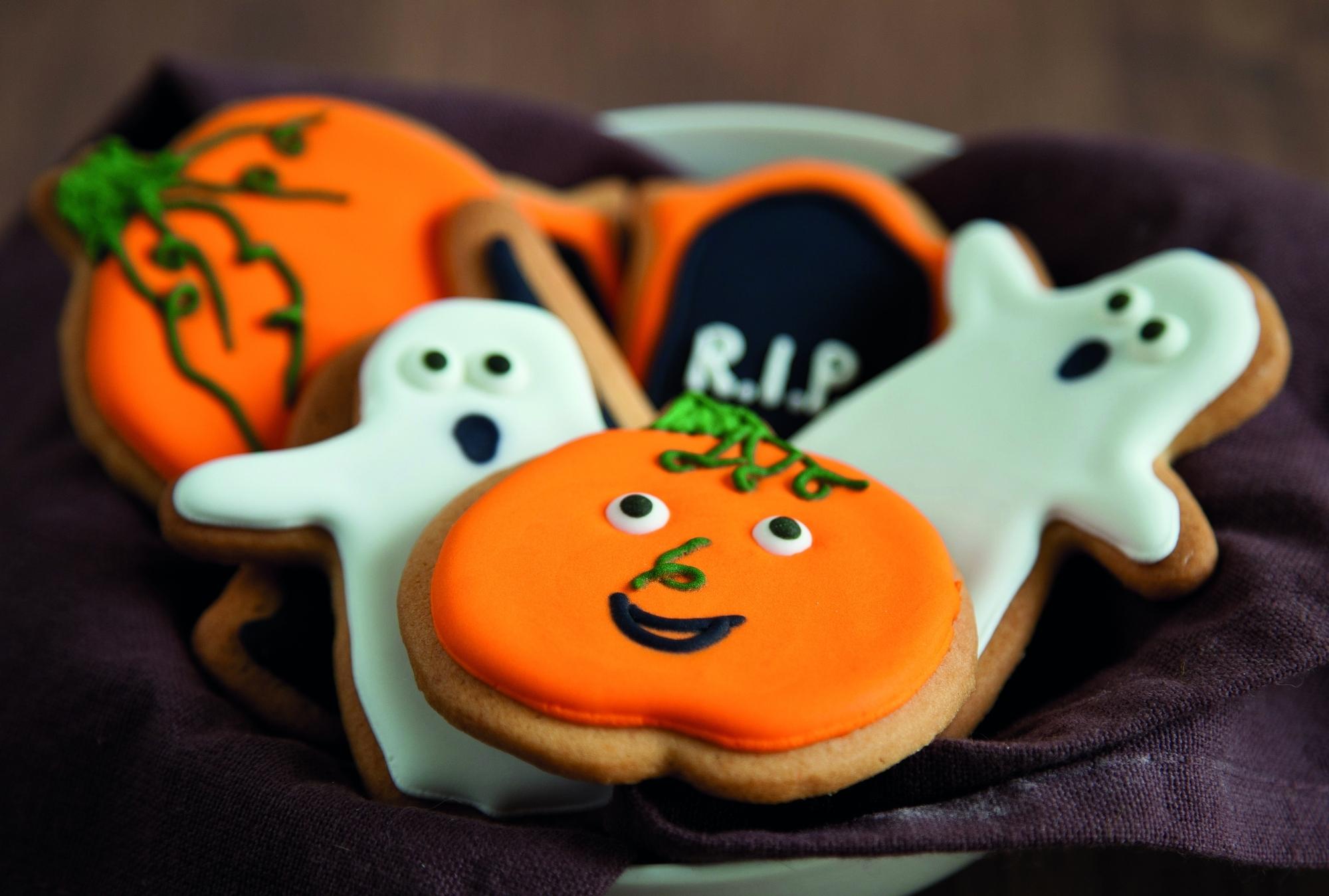 Blog griezelig lekker bakken voor halloween - Decoratie voor halloween is jezelf ...